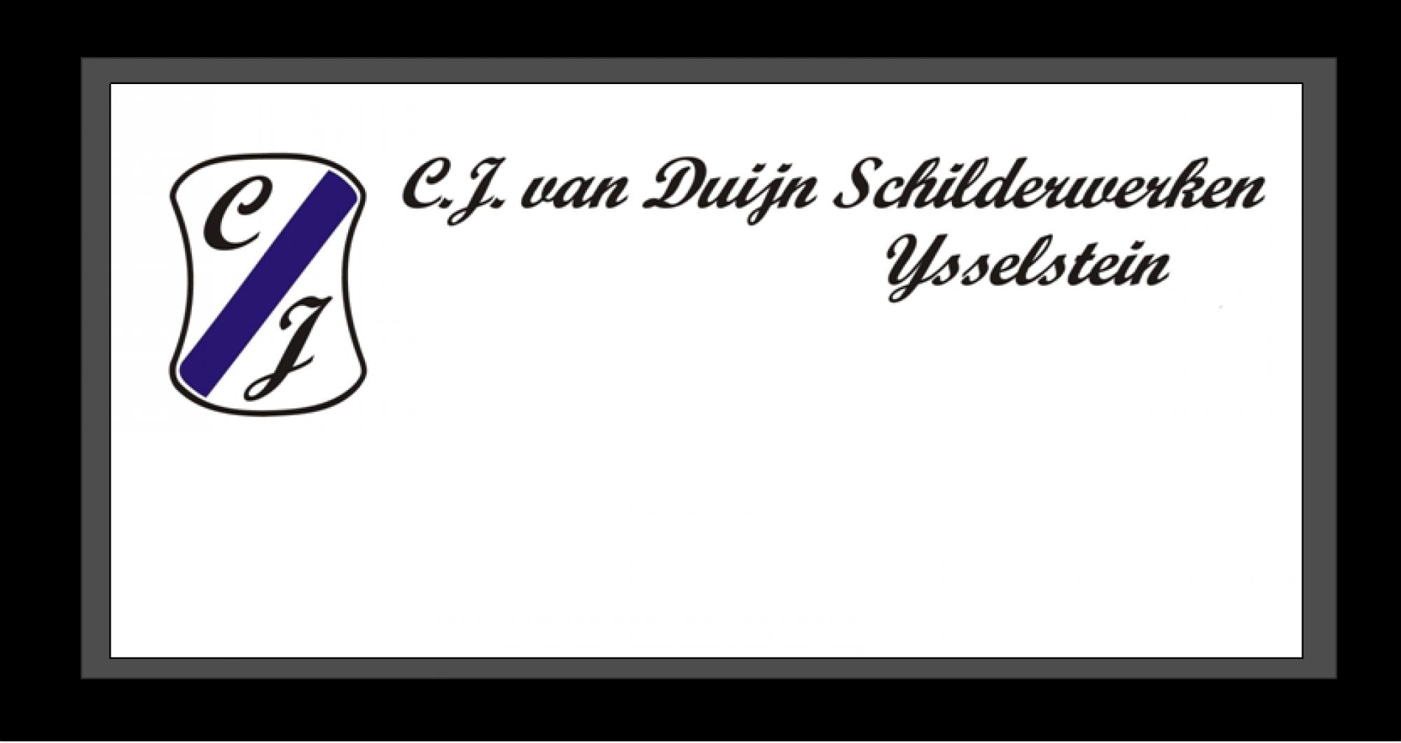 CJ van Duijn Schilderwerken